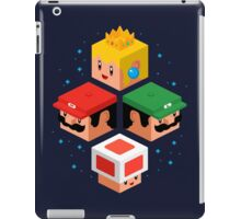 MUSHROOM KINGDOM CUBES iPad Case/Skin