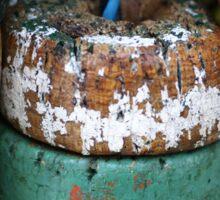Fishing Net Cork Floats Sticker