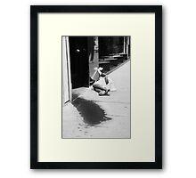 """""""The Murder"""" Framed Print"""