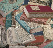 Escape With A Book Vintage Books by HavenDesign