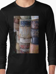 Fishing Net Cork Floats Long Sleeve T-Shirt
