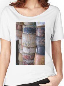 Fishing Net Cork Floats Women's Relaxed Fit T-Shirt