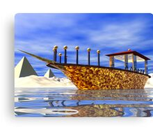 Cleopatra's Barge Canvas Print