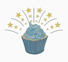 Cupcake With Stars Kids Clothes