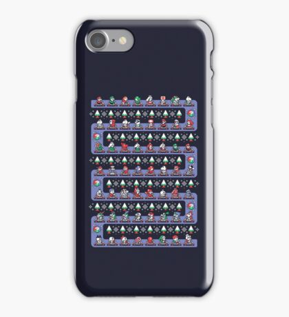 SUPER HOLIDAY KART iPhone Case/Skin
