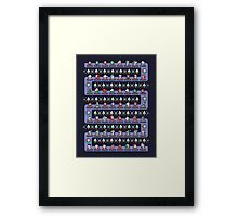 SUPER HOLIDAY KART Framed Print