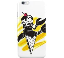Funny summer lobster ice cream cone iPhone Case/Skin