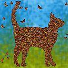 Monarch Cat by Samitha Hess Edwards