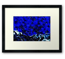 The Perfect Snowstorm Fine Art Print Framed Print
