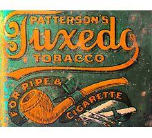 Tuxedo Tobacco Photographic Print