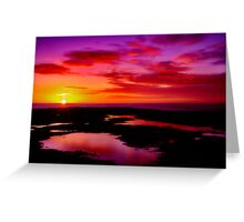 """Dawn Splendour"" Greeting Card"
