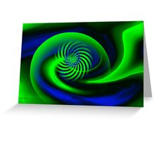 Abstract ART + Product design Greeting Card