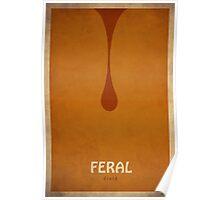 Feral Druid - WoW Minimalism Poster