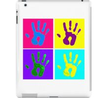 Messy Fingers iPad Case/Skin