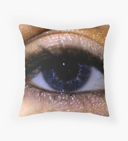 Looking Throw Pillow