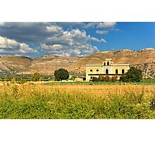 Old Sicilian mansion Photographic Print