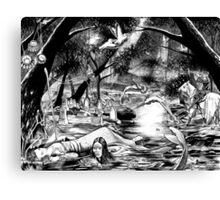 'End of the River' Canvas Print