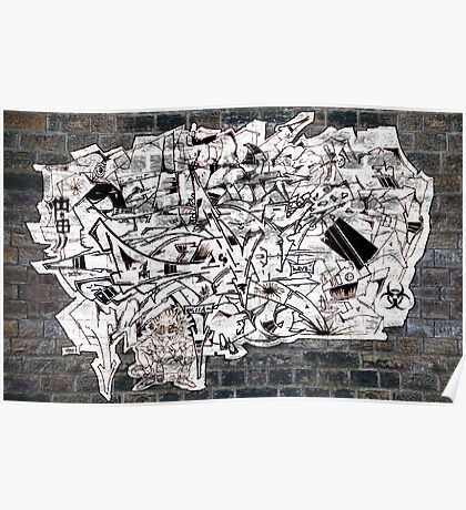 Graff madness Collaboration oN the WALL Poster
