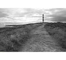 Tarbet Ness Lighthouse Photographic Print