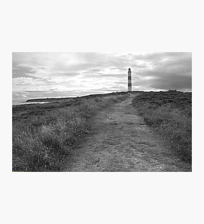 Tarbet Ness Lighthouse Photographic Print