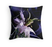 love in a mist (nigella damascena) Throw Pillow