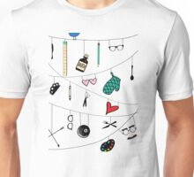 Crossing Wires Unisex T-Shirt