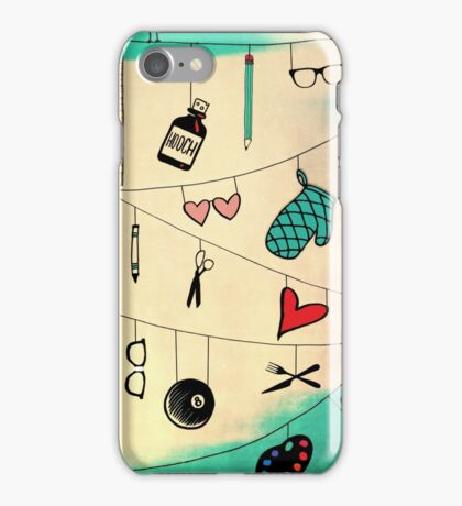 Crossing Wires iPhone Case/Skin