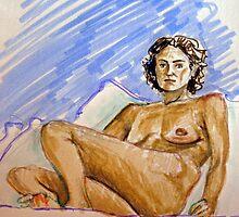 self-portrait  by Francesca Romana Brogani