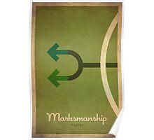 Marksmanship Hunter - WoW Minimalism Poster