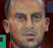 Theo Walcott by ArsenalArtz