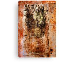 Rusty Canvas Canvas Print