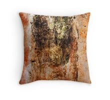 Rusty Canvas Throw Pillow