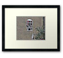 """Hanging out"" Framed Print"