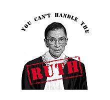 Ruth Bader Ginsburg Photographic Print