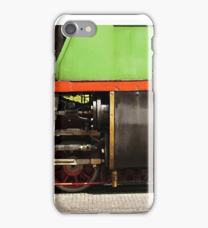 Side view of a historic steam train. iPhone Case/Skin