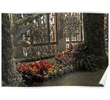 Conservatory at Longwood Gardens Poster