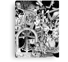 'Carnival of Life' Canvas Print