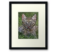 kitten one Framed Print