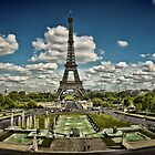 Trocadero and Eiffel tower, Paris. by cocoon