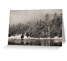 Doane's Pond, Palomar Mountain Greeting Card