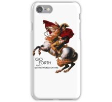 Go Forth and Conquer iPhone Case/Skin