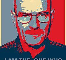 Walter White - I Am The One Who Knocks by Jakob MacDonald