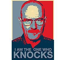 Walter White - I Am The One Who Knocks Photographic Print