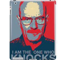 Walter White - I Am The One Who Knocks iPad Case/Skin