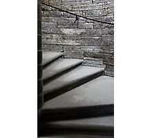 step spiral staircase Photographic Print