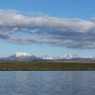 Mammoth Lakes from Crowley Lake by Steve Hunter