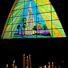 Magnificent Stained Glass in Giron Ecuador II by Al Bourassa