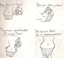 Why I love Muffin tops! <3 by BrokenBleedingAngel