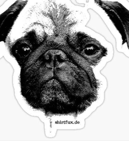 Mops puppy Sticker