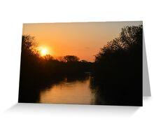 Winnebago Sunrise Greeting Card